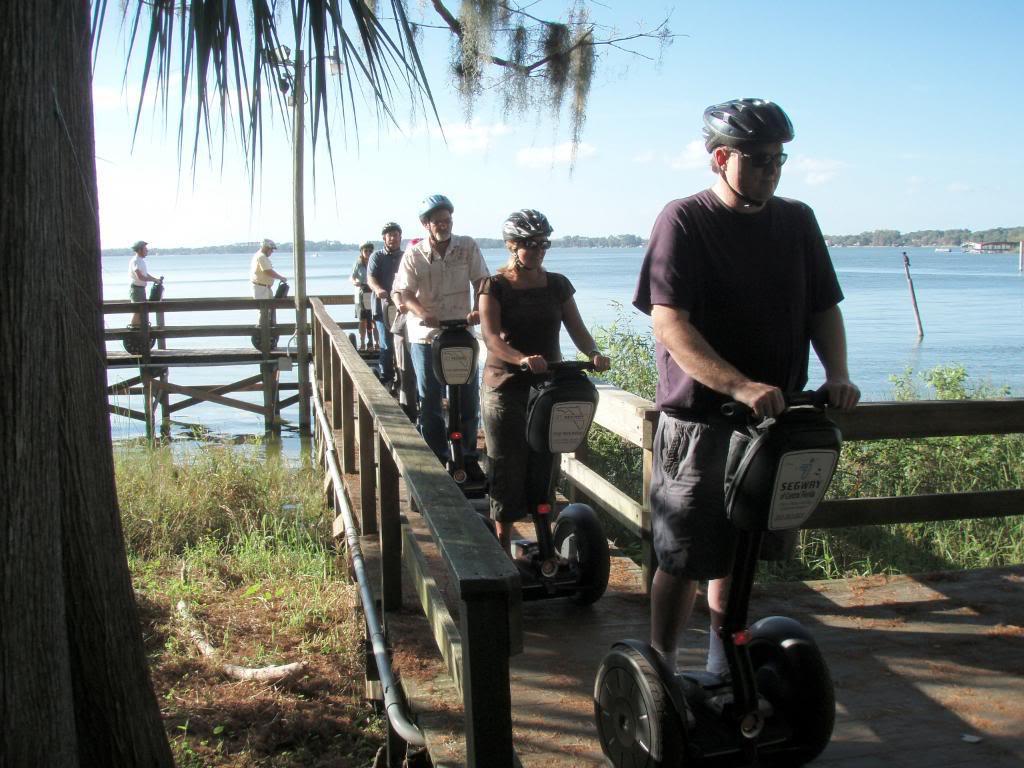 segway boardwalk