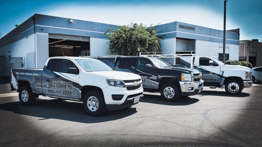 dispatch service trucks