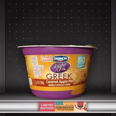 Dannon Light & Fit Caramel Apple Pie Greek Yogurt