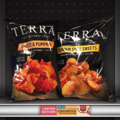 Terra Sweets & Pumpkin and Pumpkin Spice Sweets Chips