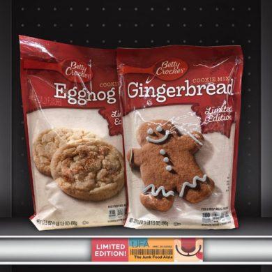 Betty Crocker Eggnog and Gingerbread Cookie Mix