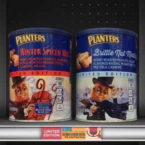 Planters Winter Spiced Mix and Brittle Nut Medley