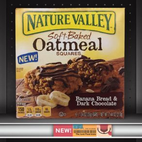 Nature Valley Soft Baked Banana Bread & Dark Chocolate Oatmeal Squares