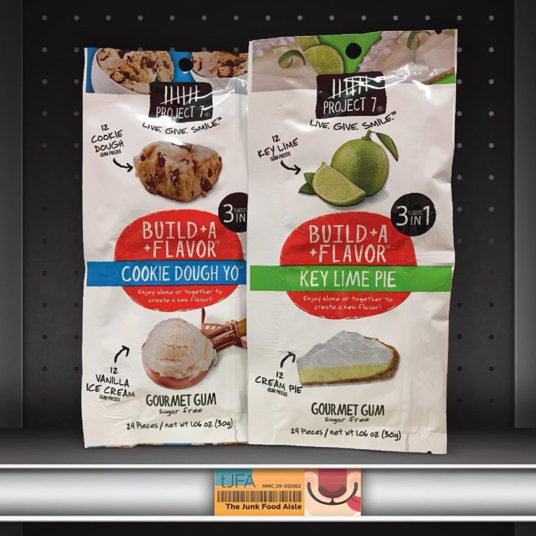 Project 7 Build A Flavor Cookie Dough Yo and Key Lime Pie Gourmet Gum