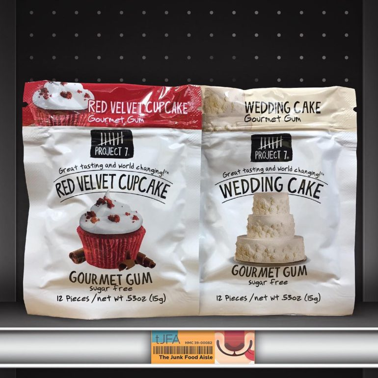 Project 7 Red Velvet Cupcake and Wedding Cake Gum