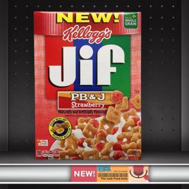 Kellogg's Jif PB&J Strawberry Cereal