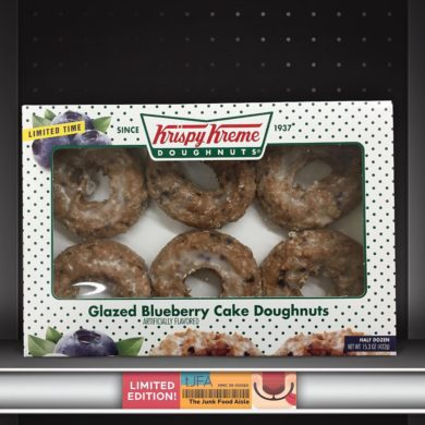 Krispy Kreme Glazed Blueberry Cake Doughnuts