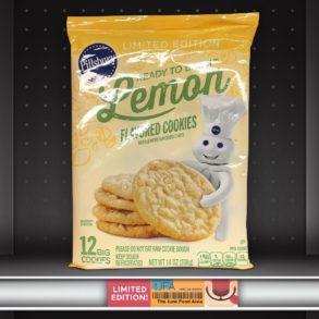 Pillsbury Lemon Flavored Cookie Dough