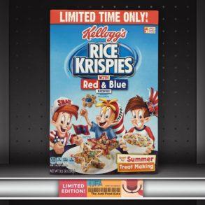 Kellogg's Red & Blue Rice Krispies