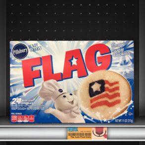 Pillsbury Flag Sugar Cookies