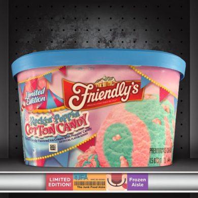 Friendly's Rockin' Poppin' Cotton Candy Ice Cream