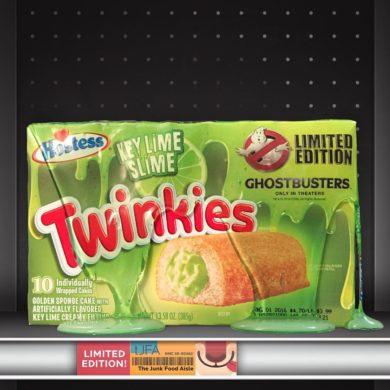 Ghostbusters Key Lime Slime Twinkies