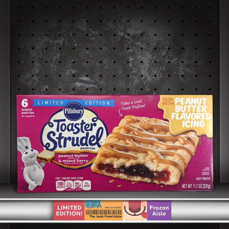 Toaster Strudel Peanut Butter & Mixed Berry