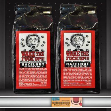 Wake The Fuck Up!!! Hazelnut Flavored Coffee