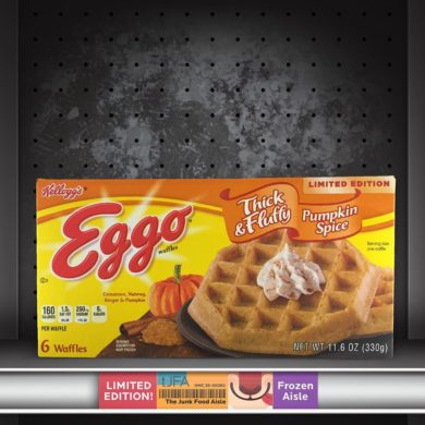 Eggo Thick & Fluffy Pumpkin Spice Waffles