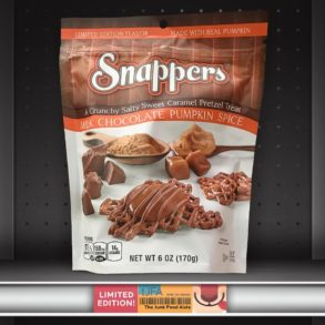 Milk Chocolate Pumpkin Spice Snappers