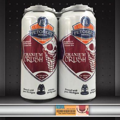 Petosky Brewing Cranium Crush: Raspberry Waffle Cone Cream Ale
