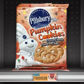 Pillsbury Pumpkin Cookies with Cream Cheese Flavored Chips