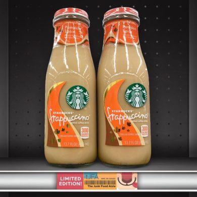 Starbucks Pumpkin Spice Frappuccino Chilled Coffee Drink