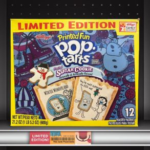 Frosted Sugar Cookie Printed Fun Pop-Tarts