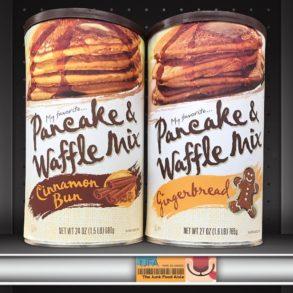 My Favorite Cinnamon Bun & Gingerbread Pancake & Waffle Mix