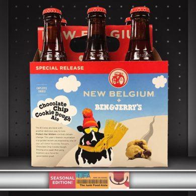 New Belgium + Ben & Jerry's Chocolate Chip Cookie Dough Ale