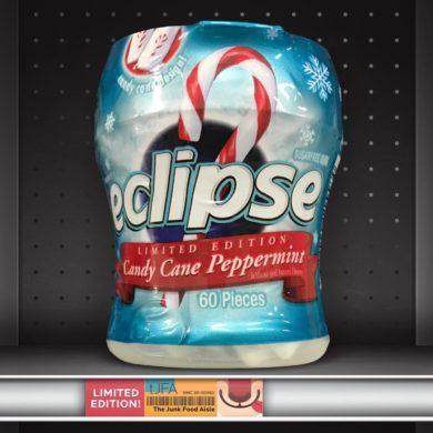 Eclipse Candy Cane Peppermint Gum