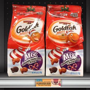 Goldfish Mix Chocolate Candy Cane + Pretzel