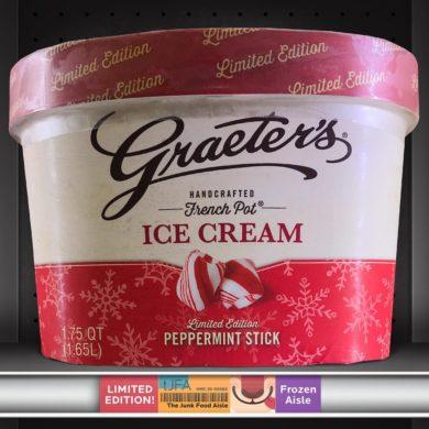 Graeter's Peppermint Stick Ice Cream