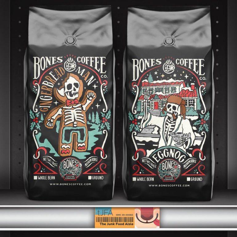 Bones Coffee Co. Gingerbread Man & Eggnog