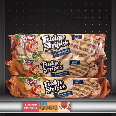 Keebler Cinnamon Roll Fudge Stripes Cookies