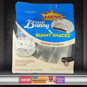 Blue Bunny Ice Cream Bunny Snacks: Cookies 'N Cream
