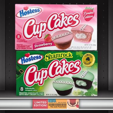 Strawberry & Shamrock Hostess Cup Cakes