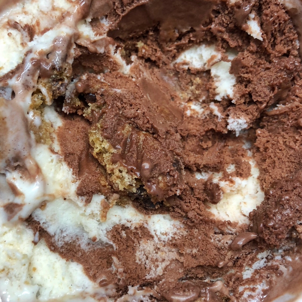 Ben & Jerry's Chocolate Milk & Cookies Moo-Phoria Ice Cream
