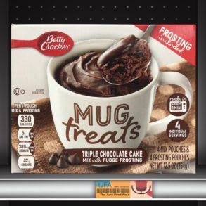 Betty Crocker Mug Treats: Triple Chocolate Cake