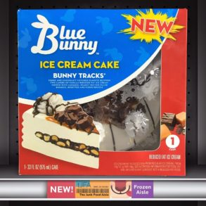 Blue Bunny Bunny Tracks & Vanilla Bean Blondie Ice Cream Cakes