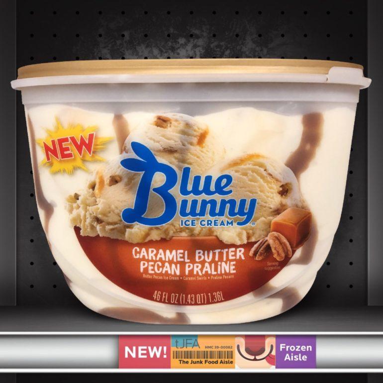 Blue Bunny Caramel Butter Pecan Praline Ice Cream