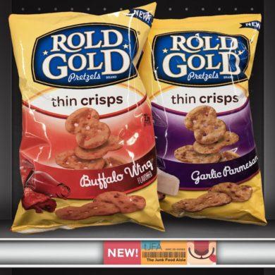 Buffalo Wing & Garlic Parmesan Rold Gold Pretzels Thin Crisps