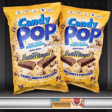 Candy Pop Butterfinger Popcorn
