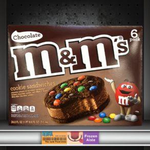 Chocolate M&M's Ice Cream Cookie Sandwiches