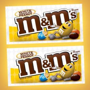 Coming Soon: White Chocolate Peanut M&M's