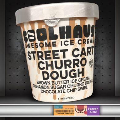 Coolhaus Street Cart Churro Dough Ice Cream