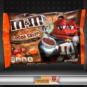 Creepy Cocoa Crisp M&M's