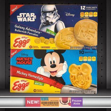 Disney Star Wars & Mickey Mouse Eggo Pancakes & Waffles