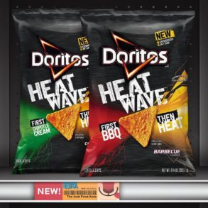 Doritos Heat Wave Chipotle Cream and BBQ