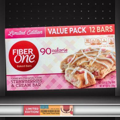 Fiber One Strawberries & Cream Bar