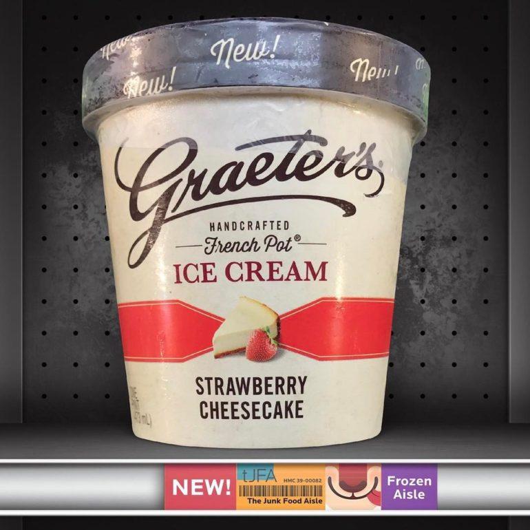 Graeter's Strawberry Cheesecake Ice Cream