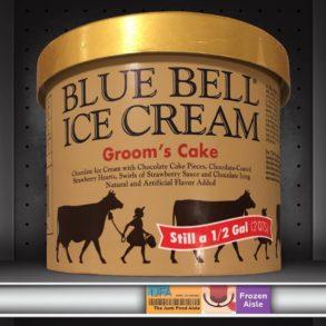 Groom's Cake Blue Bell Ice Cream