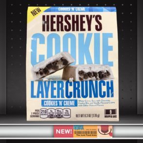 Hershey's Cookies 'N' Creme Cookie Layer Crunch