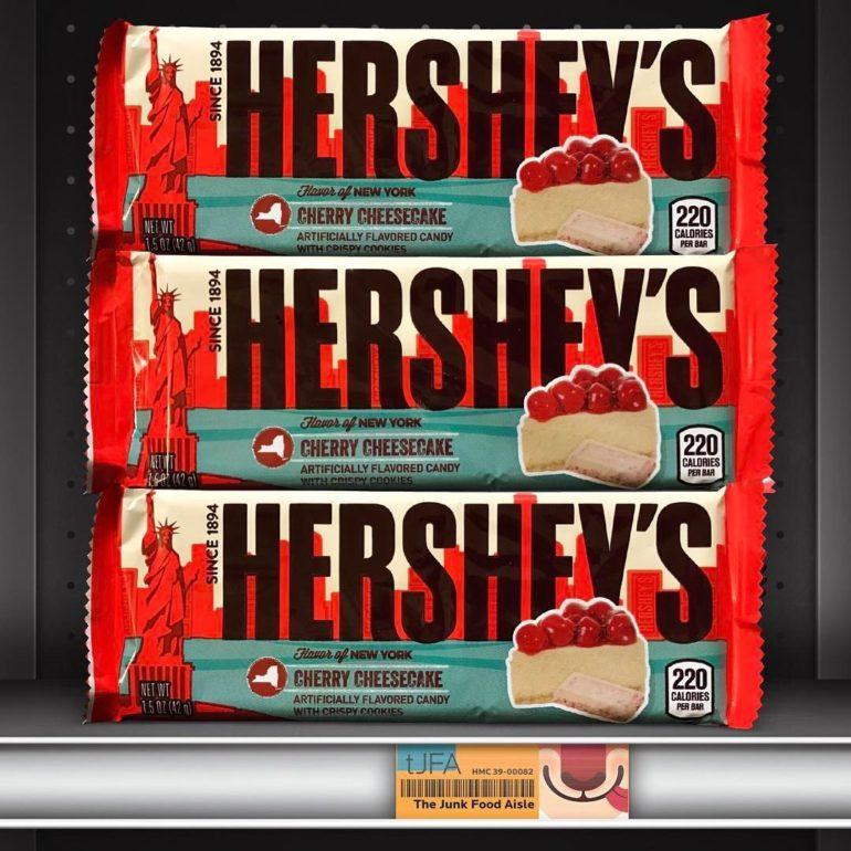 Hershey's Flavor of New York Cherry Cheesecake
